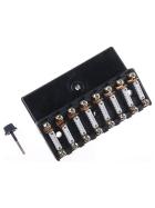Sicherungshalter 8er Keramiksicherung 8 Ampere Schraubanschluß - mit Sicherungseinsatz