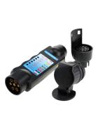 Fahrzeugsbeleuchtungstester inkl. 2 Adapter