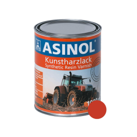 Tin with red-orange colour O&K RAL 2002