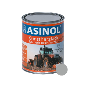 Box with silver colour for Fendt rims RAL 9006