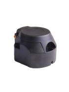 13-polige Steckdose Kunststoff inkl. Gummidichtung und Befestigungsmaterial